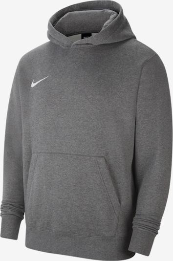 NIKE Sportsweatshirt 'Park 20' in graumeliert / weiß, Produktansicht