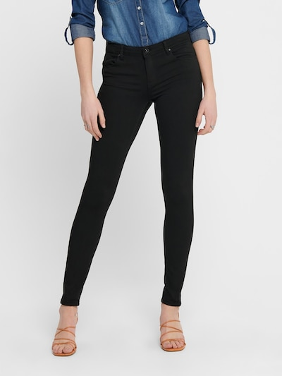 ONLY Jeans 'ONLCARMEN SKINNY FIT' in black denim, Modelansicht
