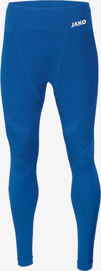 JAKO Unterwäsche in kobaltblau / weiß, Produktansicht