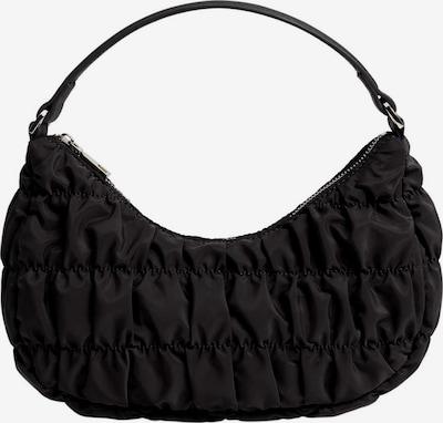 MANGO Ročna torbica | črna barva, Prikaz izdelka