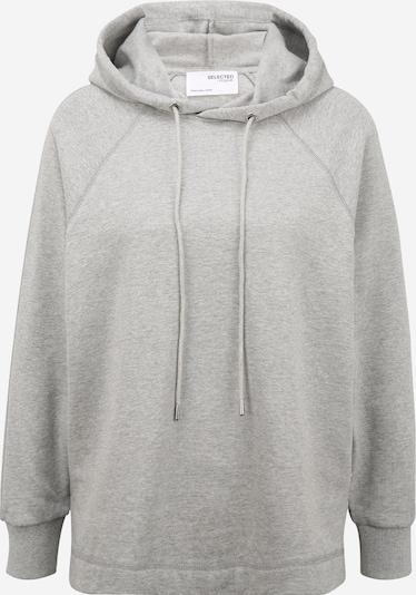 Selected Femme Petite Sweatshirt 'STASIE' in Light grey, Item view