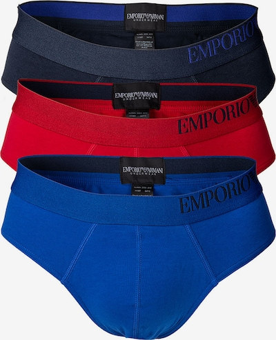 Emporio Armani Slip in de kleur Blauw / Navy / Rood, Productweergave