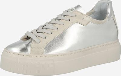 MAHONY Zapatillas deportivas bajas 'Bern' en beige / plata, Vista del producto