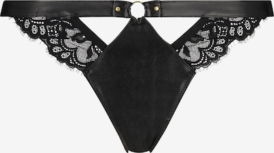 Hunkemöller String 'Dolly' in schwarz, Produktansicht