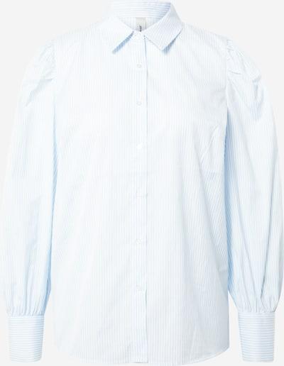 Bluză 'OBION' Soyaconcept pe albastru deschis / alb, Vizualizare produs