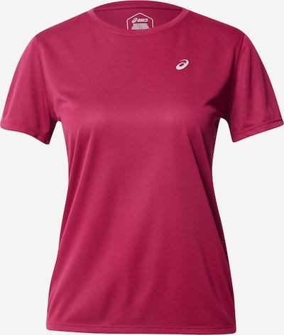 ASICS T-shirt fonctionnel 'KATAKANA' en baie / blanc, Vue avec produit