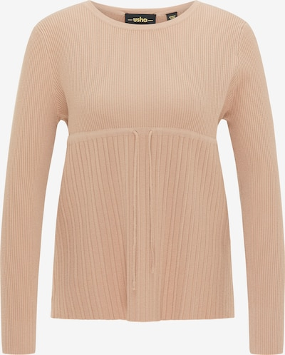usha BLACK LABEL Strickpullover in beige, Produktansicht