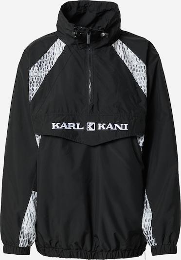 Karl Kani Преходно яке в черно / бяло: Изглед отпред