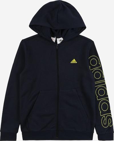 Sportinis džemperis iš ADIDAS PERFORMANCE , spalva - šviesiai geltona / juoda, Prekių apžvalga