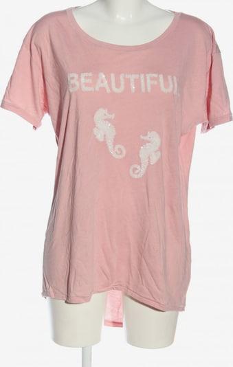 miss goodlife T-Shirt in 5XL in pink / weiß, Produktansicht