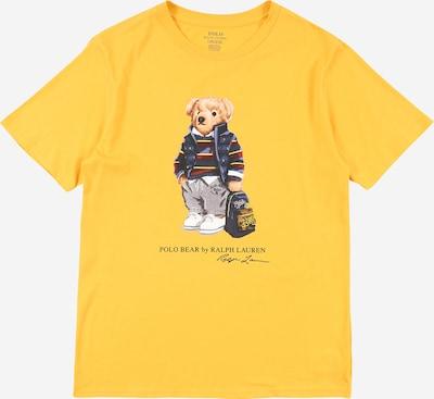 POLO RALPH LAUREN Shirt in de kleur Beige / Bruin / Geel / Lichtgrijs, Productweergave