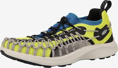 KEEN Sandalen in de kleur Donkerblauw / Geel / Grijs / Zwart, Productweergave