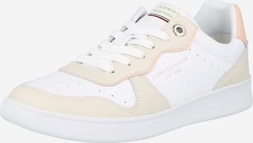 TOMMY HILFIGER Sneaker low i hvit