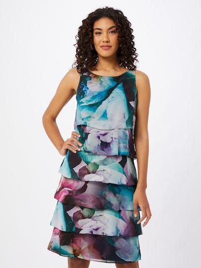 Vera Mont Kjole i blandingsfarvet, Modelvisning