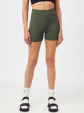 ABOUT YOU Sportbroek 'Laureen Shorts' in Groen