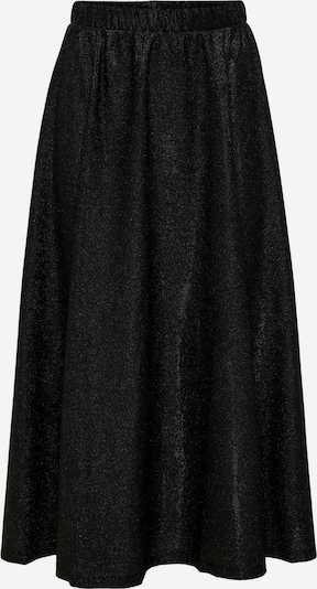ONLY Glitzer Midirock in schwarz, Produktansicht