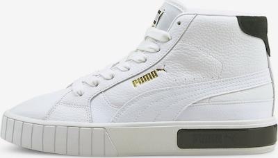 PUMA Sneakers hoog 'Cali Star' in de kleur Goud / Zwart / Wit, Productweergave