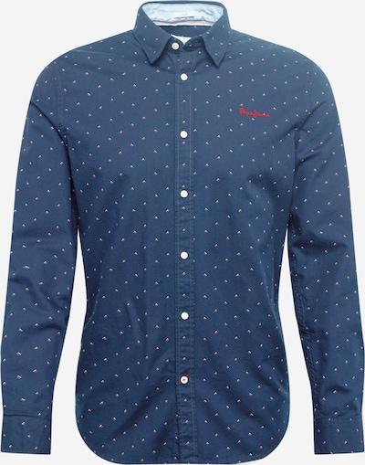 Pepe Jeans Chemise en bleu marine / melon / blanc, Vue avec produit