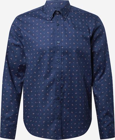 Ben Sherman Košile - tmavě modrá / pastelově zelená / oranžová, Produkt
