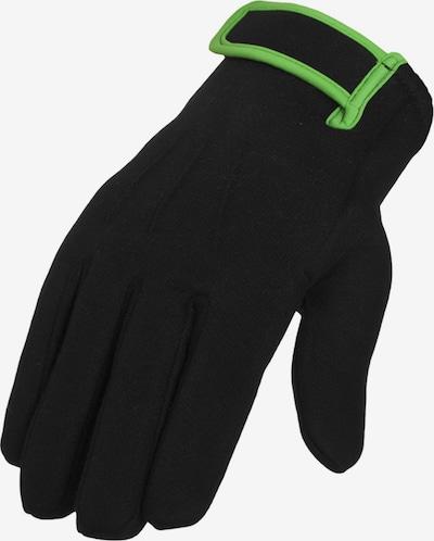 Urban Classics Fingerhandschuhe in neongrün / schwarz, Produktansicht