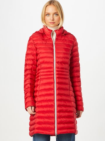 No. 1 Como Between-Seasons Coat 'OSLO' in Red