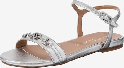 UNISA Sandale in silber, Produktansicht