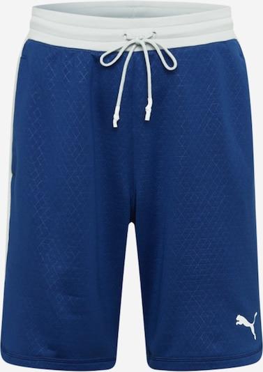 PUMA Športne hlače 'TRAIN ACTIVATE' | modra / bela barva, Prikaz izdelka