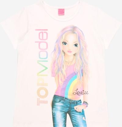 TOP MODEL Тениска в пъстро / бяло, Преглед на продукта