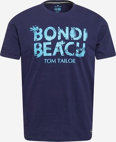 TOM TAILOR T-Krekls jūraszils / neona zils, Preces skats