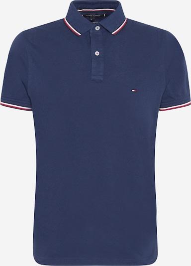 TOMMY HILFIGER T-Shirt 'TOMMY TIPPED SLIM POLO' en bleu foncé, Vue avec produit