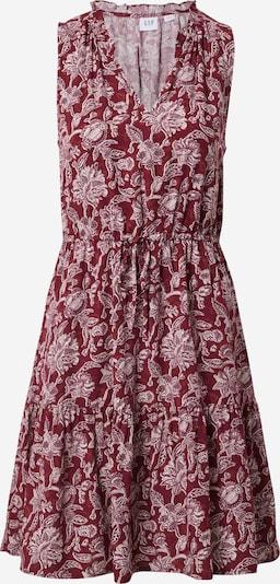 GAP Sukienka 'ZEN' w kolorze ciemnoczerwony / białym, Podgląd produktu