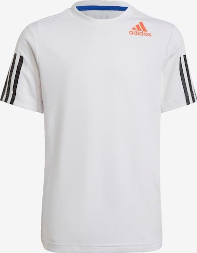 ADIDAS PERFORMANCE Functioneel shirt in de kleur Lichtoranje / Zwart / Offwhite, Productweergave
