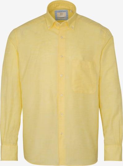 ETERNA Zakelijk overhemd in de kleur Geel, Productweergave