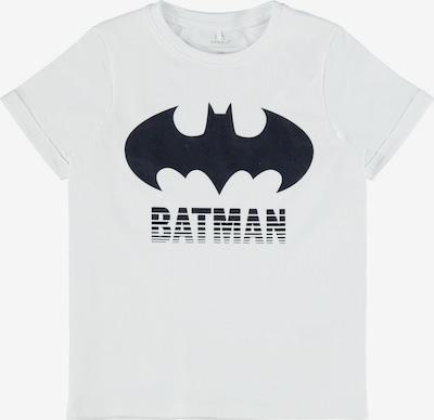 NAME IT Shirt 'Batman' in schwarz / weiß, Produktansicht