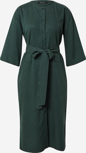 Rochie tip bluză 'HAZEL' recolution pe verde închis, Vizualizare produs