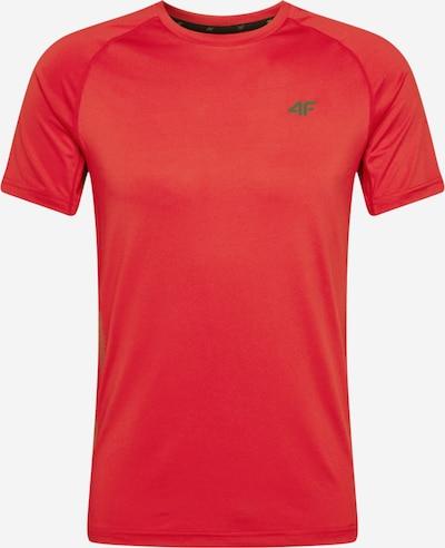 4F Sportshirt in orangerot / schwarz, Produktansicht