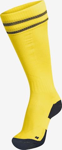 Hummel Sportsocken 'Element' in Gelb