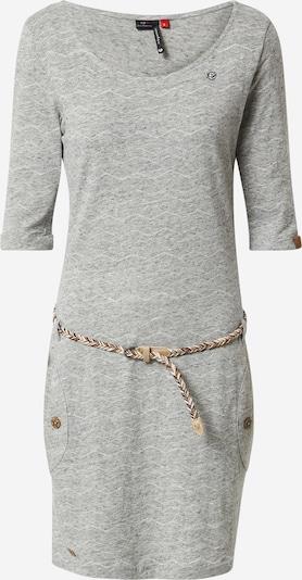 Ragwear Kleid 'TANYA' in grau / weiß, Produktansicht