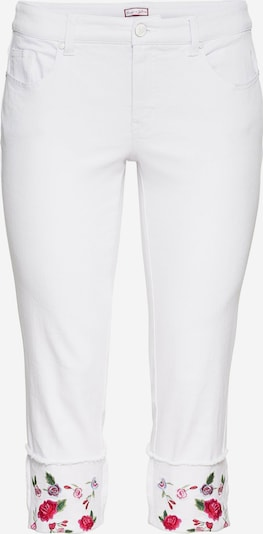 sheego by Joe Browns Jeans in de kleur Gemengde kleuren / White denim, Productweergave