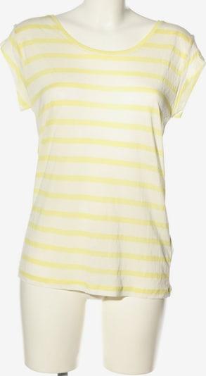 mbym T-Shirt in S in pastellgelb / weiß, Produktansicht