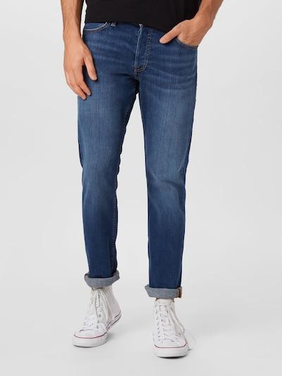 JACK & JONES Jeans 'GLENN' in de kleur Blauw denim, Modelweergave