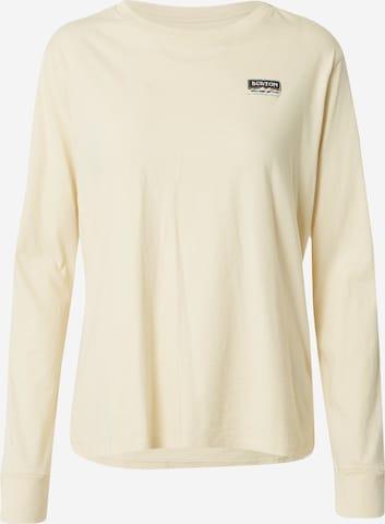 BURTON Skjorte i beige