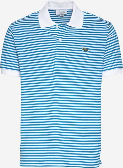 LACOSTE Tričko - nebeská modř / bílá, Produkt