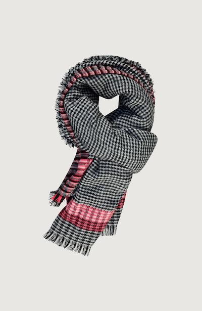 O'NEILL Sjaal 'Check' in de kleur Koraal / Zwart / Wit, Productweergave