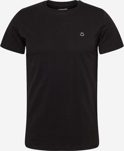Brosbi T-Shirt 'THE SMILE' en noir / blanc, Vue avec produit