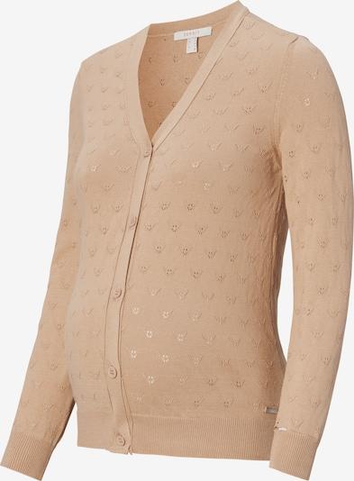 Esprit Maternity Strickjacke in beige, Produktansicht