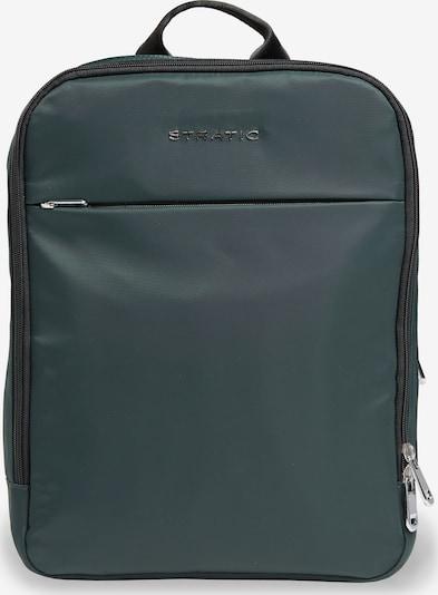 Stratic Rucksack in dunkelgrün, Produktansicht