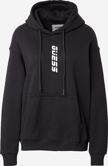 GUESS Athletic Sweatshirt 'Alisha' in Black / White, Item view