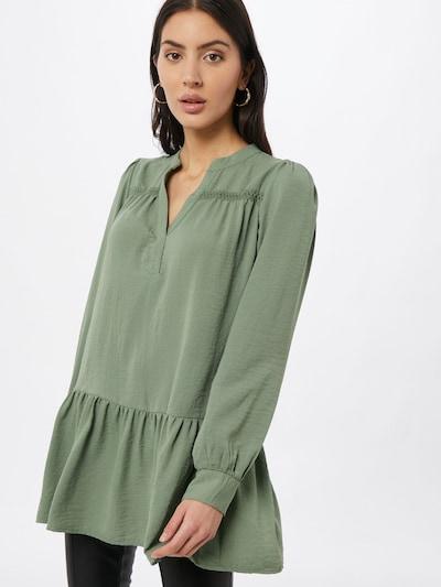 JACQUELINE de YONG Tunique 'LAURA' en vert, Vue avec modèle