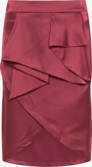 faina Skirt in Wine red, Item view